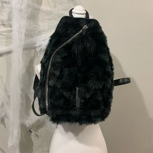 Kendall + Kylie Koenji faux fur backpack